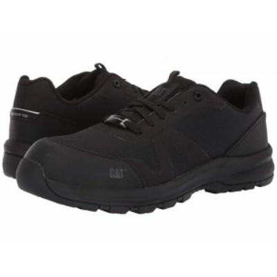 Caterpillar キャタピラー メンズ 男性用 シューズ 靴 スニーカー 運動靴 Passage Composite Toe Black【送料無料】