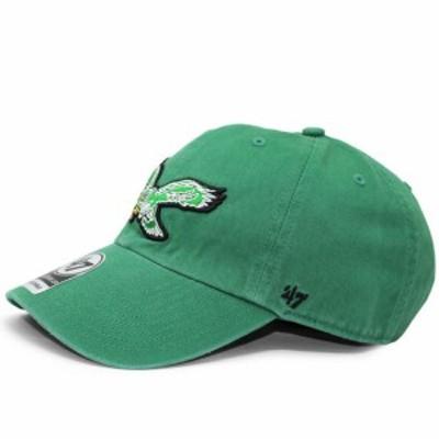 新品 47 BRAND nr-fl-rgw24gws-ky87 フィラデルフィア イーグルス CLEAN UP CAP キャップ GREEN グリーン メンズ 620008876015 ヘッドウ