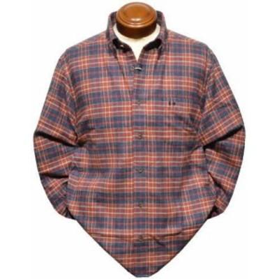 【セール】 マクレガー ボタンダウン長袖シャツ メンズ 111170616 起毛 長袖シャツ ネルシャツ M/L/LL