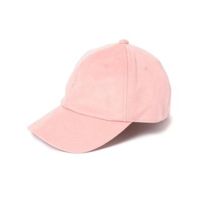 【シップス】 (9999)6PANEL FAKE SUEDE CAP レディース ピンク ONESIZE SHIPS