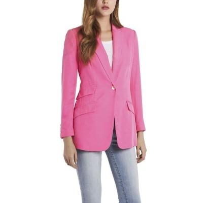 ヴィンスカムート ジャケット&ブルゾン アウター レディース Petite Long Sleeve Luxe CDC One Button Blazer Bright Hibiscus