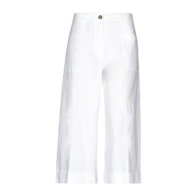 セミクチュール SEMICOUTURE パンツ ホワイト 40 コットン 100% パンツ