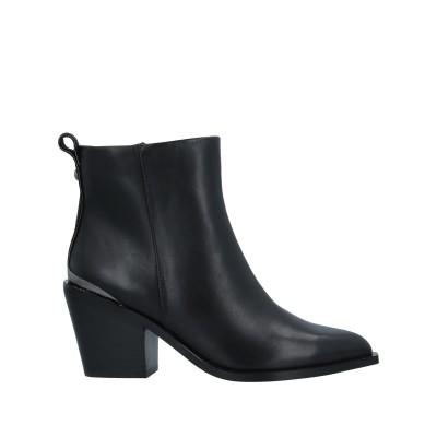 BUFFALO ショートブーツ ブラック 36 牛革(カーフ) ショートブーツ