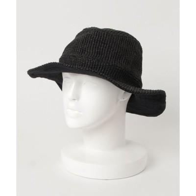 帽子 ハット 【グレース】ウェーブハットウォッシュバック / grace WAVE HAT WASHBACK