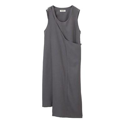 <ZUCCa L(Women)/ズッカ エル> 大きいサイズ PEサージワンピース XLサイズ gray(24)【三越伊勢丹/公式】