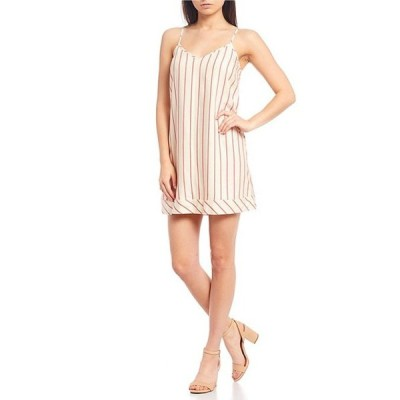 ジャンビニ レディース ワンピース トップス Abi Stripe Slip Mini Dress