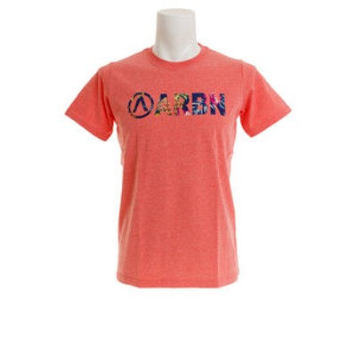 Tシャツ メンズ 半袖  BOTANICAL ロゴ ショートスリーブ AB99AW1180 PNK