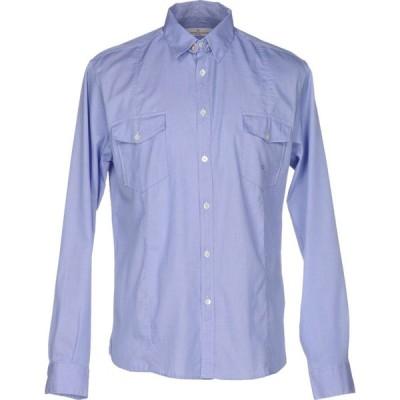 ゴールデン グース GOLDEN GOOSE DELUXE BRAND メンズ シャツ トップス patterned shirt Blue