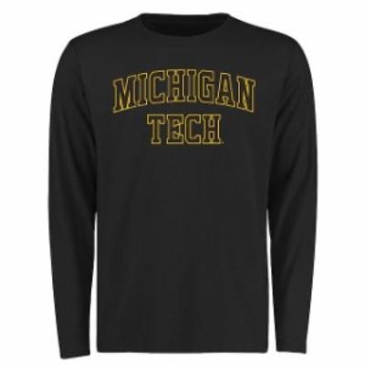 Fanatics Branded ファナティクス ブランド スポーツ用品  Michigan Tech Huskies Black Everyday Long Sleeve T-Shirt