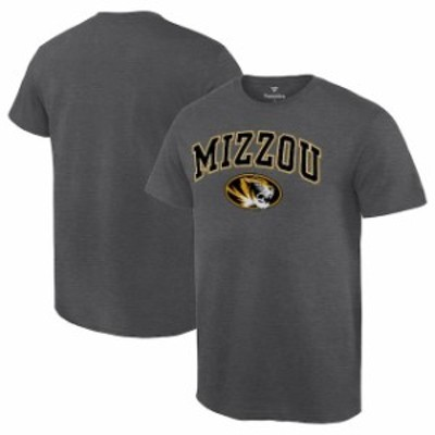 Fanatics Branded ファナティクス ブランド スポーツ用品  Fanatics Branded Missouri Tigers Charcoal Campus T-Shirt