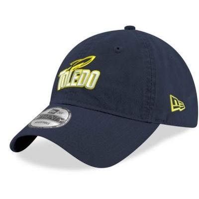 ユニセックス スポーツリーグ アメリカ大学スポーツ Toledo Rockets New Era Hustle 9TWENTY Adjustable Hat - Navy - OSFA 帽子