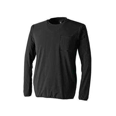 TS DESIGN (藤和)TS DELTA スウェットシャツ ブラック 8345 ブラック 95 LL (ブラック LL)