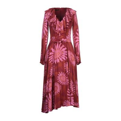MARIAGRAZIA PANIZZI 7分丈ワンピース・ドレス フューシャ 42 レーヨン 100% / ポリエステル 7分丈ワンピース・ドレス