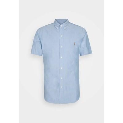 ラルフローレン シャツ メンズ トップス SHORT SLEEVE SHIRT - Shirt - blue