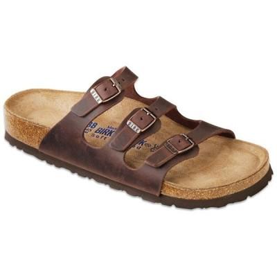 ビルケンシュトック レディース サンダル シューズ Birkenstock Florida Oiled Leather Soft Footbed Sandals - Women's