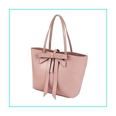 【新品】Sydney Love Vegan Leather Large Bow Tote, Pink(並行輸入品)