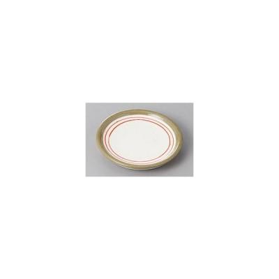(業務用・丸皿)赤ライン3.0平皿(入数:5)