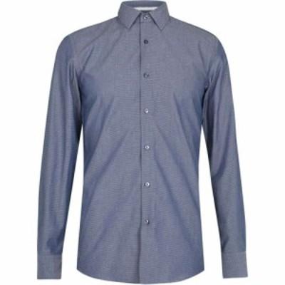 ヒューゴ ボス Boss メンズ シャツ トップス jesse shirt Navy