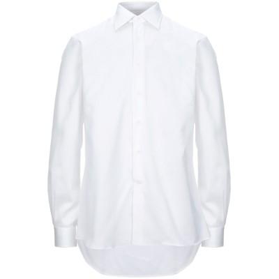 I SARTI シャツ ホワイト 40 コットン 100% シャツ