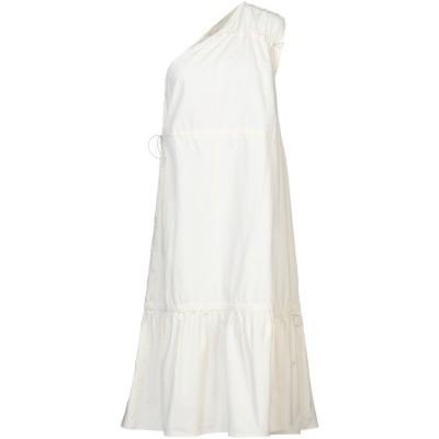 テーラ TELA 7分丈ワンピース・ドレス アイボリー 44 コットン 100% 7分丈ワンピース・ドレス