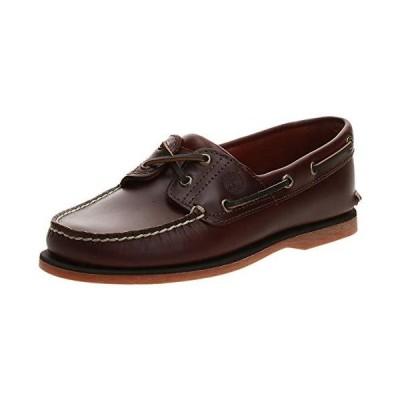 Timberland Men's Classic 2-Eye Boat Shoe, Rootbeer/Brown, 9.5 M並行輸入品