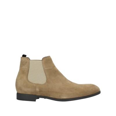 エンポリオ アルマーニ EMPORIO ARMANI ショートブーツ サンド 11 牛革(カーフ) 100% ショートブーツ