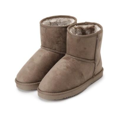 SHOO・LA・RUE / 【テフロン(TM)加工/抗菌防臭】エコムートンブーツ WOMEN シューズ > ブーツ