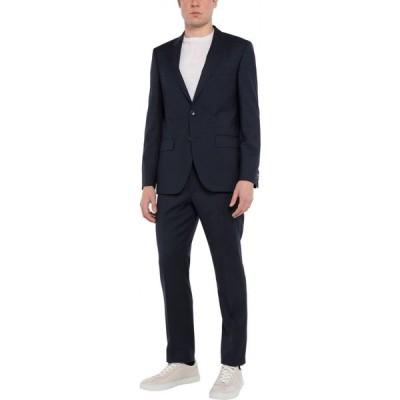 トミー ヒルフィガー TOMMY HILFIGER メンズ スーツ・ジャケット アウター Suit Dark blue