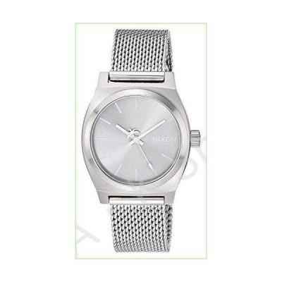 Nixon Medium Time Teller Milanese All Silver One Size【並行輸入品】