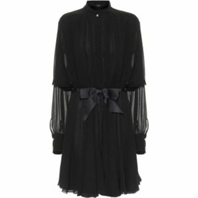 ジャンバティスタ バリ Giambattista Valli レディース パーティードレス ワンピース・ドレス Silk Georgette Minidress Black
