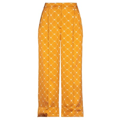 SIYU パンツ オレンジ 38 レーヨン 95% / ポリウレタン 5% パンツ