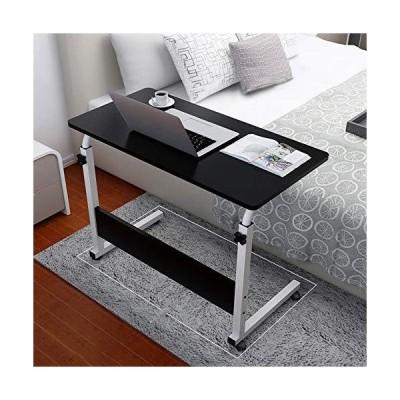 [新品]Allywit 折りたたみ式コンピュータデスク 80cm 40cm コンピュータデスクカート 高さ55cmから73cm 180度