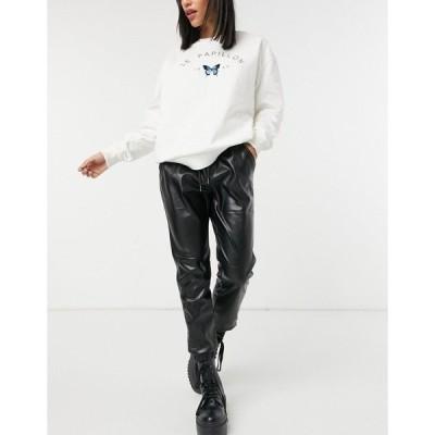 ビービーダコタ レディース カジュアルパンツ ボトムス BB Dakota walk It out sweatpants in black Black