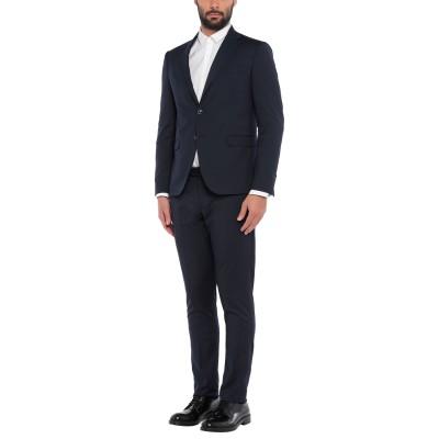 ALESSANDRO GILLES スーツ ダークブルー 54 ウール 65% / レーヨン 33% / ポリウレタン 2% スーツ