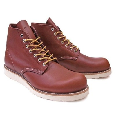 RED WING レッドウィング ワークブーツ Dワイズ 9105 6INCH ROUND TOE BOOTS COPPER