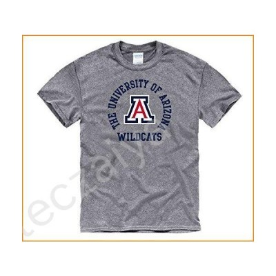 Campus Colors Arizona Wildcats Adult NCAA Team Spirit T-Shirt - Graphite, Small並行輸入品