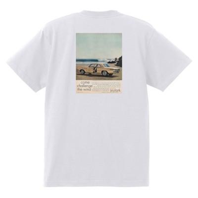 アドバタイジング ビュイック 白243 Tシャツ 1961 ルセーブルワイルドキャット スカイラーク