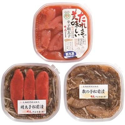 美味いよ!明太子・松前漬けセット