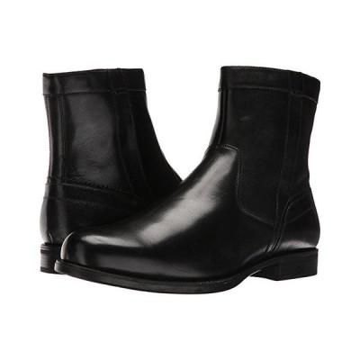 フローシャイム Midtown Plain Toe Zip Boot メンズ ブーツ Black Smooth