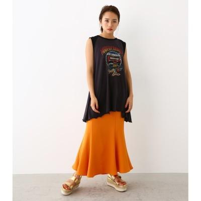 【ロデオクラウンズ/RODEO CROWNS】 カラー マーメイド スカート