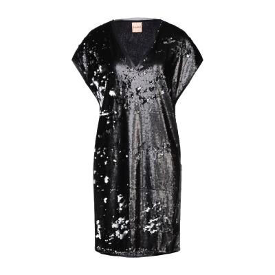ヌード NUDE ミニワンピース&ドレス ブラック 42 ポリエステル 85% / ナイロン 15% ミニワンピース&ドレス
