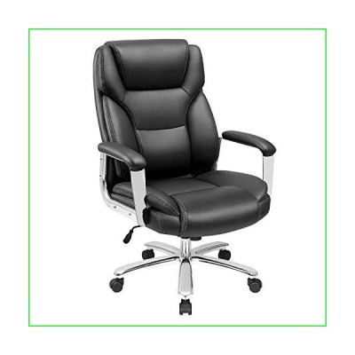 Furmax Big and Tall Office Desk Chair Leather Ergonomic High Back Executive Chair with Lumbar Support Swivel Computer Task Chair with Armres