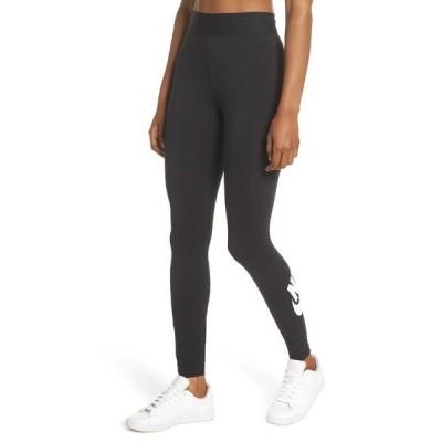 【当日出荷】 ナイキ レディース Nike Sportswear Leg-A-See Futura Leggings Black/ White 【サイズ M】