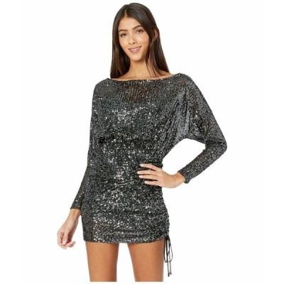 フリーピープル ワンピース トップス レディース Giselle Mini Dress Black