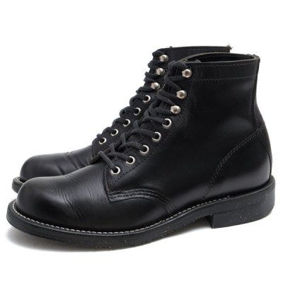 CHIPPEWA チペワ レースアップブーツ 12463808 4353BLK 1939 6inch SERVISE BOOTS 米国ホーウィン社フルグレインオイルドレザー 牛革 Archive Collection アー
