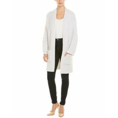 Autumn Cashmere オータムカシミア ファッション トップス Autumn Cashmere Cashmere & Wool-Blend Cardigan S White