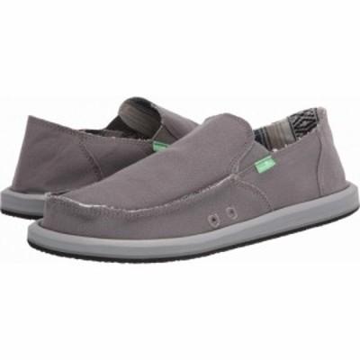 サヌーク Sanuk メンズ シューズ・靴 Vagabond Baja Charcoal