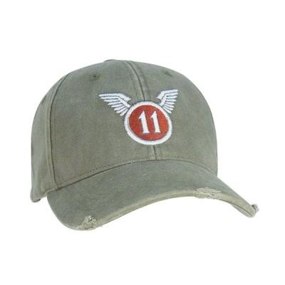 【お取り寄せ品】ROTHCO / ロスコ 9487 VINTAGE OD ''11TH AIRBORNE'' LOW PROFILE CAP