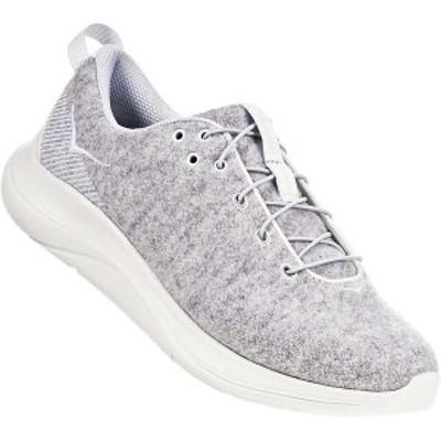 ホッカオネオネ レディース スニーカー シューズ Hoka One One Women's Hupana Flow Wool Shoe Lunar Rock / Blanc De Blanc