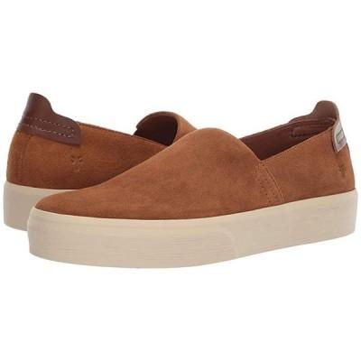 フライ Beacon Slip-On メンズ スニーカー 靴 シューズ Brown Oiled Suede